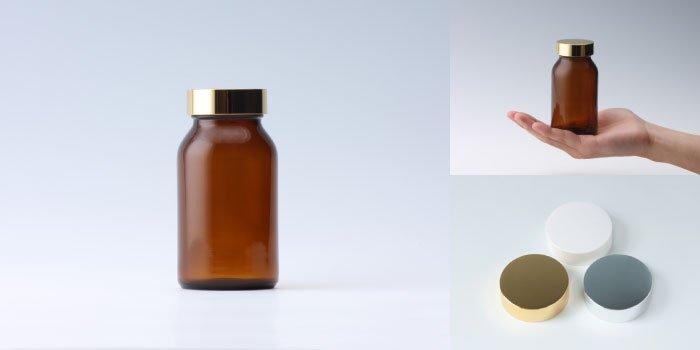 健康食品・規格瓶 規格瓶 PS-12K 茶