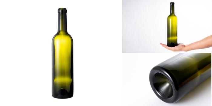 ワイン・洋酒瓶  ボルドー720 木口 AG