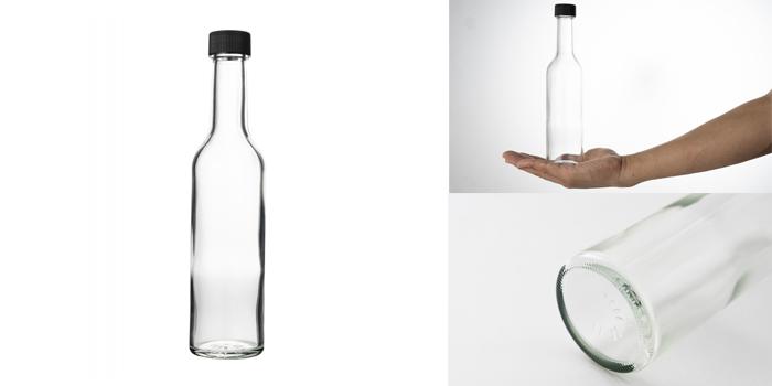 ワイン・洋酒瓶  スリムワイン300 透明