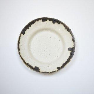 リム ラウンド皿(小) ブラウン [KODAMA TOKI]