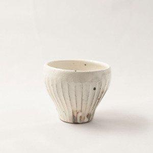 鉄散 フリーカップ 線彫(小)  [古谷浩一]