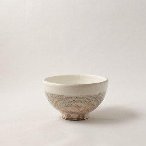 ご飯茶碗 粉引 アラヨコボリ(小)   [古谷浩一]