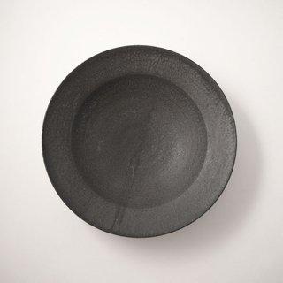 リム皿 (黒)  [山本雅則]