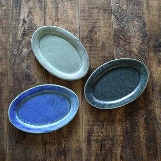 Mオーバル皿(中) [サニークラフト]