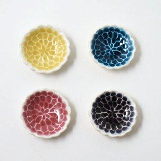 箸置き 色絵 菊 [葛西国太郎]