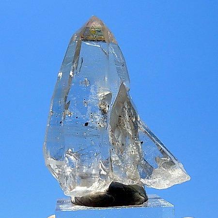 ラスワ産初クリアクリスタル<br>Rasuwa District 1st clear Crystal