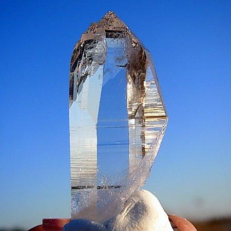 エッチド、仏陀クリスタル<br>Etched Buddha Crystal