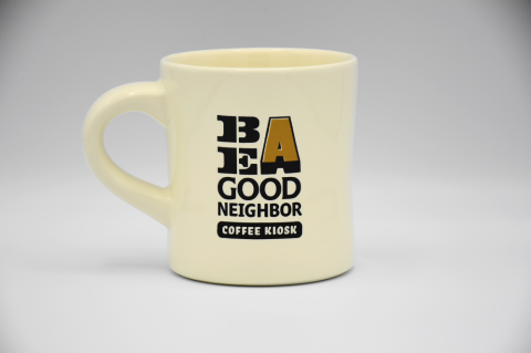 Landscape products 「Be A Good Neighbor KIOSK Mug」