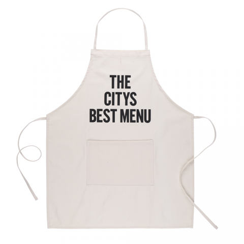 DRESSSEN 「ADULT APRON (THE CITYS BEST MENU)」