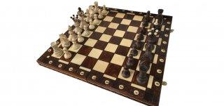 世界最高峰のハンドメイド・チェスセット Wegiel Chess Ambasador (アンバサダー)日本正規品