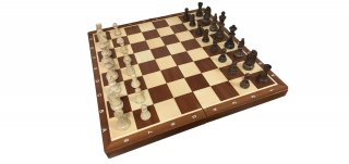 世界最高峰のハンドメイド・チェスセット Wegiel Chess Tournament No.6 (トーナメント No.6)日本正規品