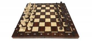 世界最高峰のハンドメイド・チェスセット Wegiel Chess Tournament No.4 バックギャモン チェッカー(トーナメント No.4 D+B)日本正規品
