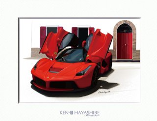 LaFerrari(red)