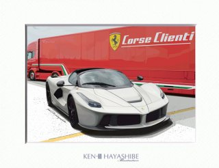 <img class='new_mark_img1' src='//img.shop-pro.jp/img/new/icons1.gif' style='border:none;display:inline;margin:0px;padding:0px;width:auto;' />La Ferrari Aparta(white)