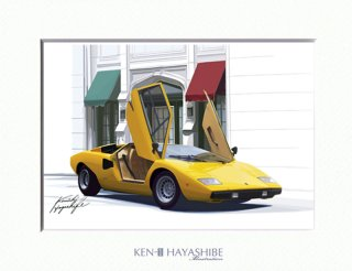 Countach LP400(yellow)
