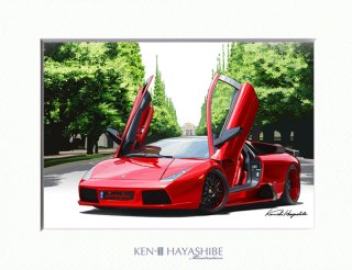Murcielago custom(red)