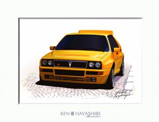 Delta HF Integrale (yellow)