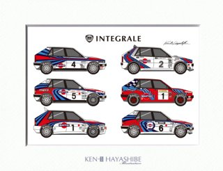 Delta HF Integrale Martini Rally