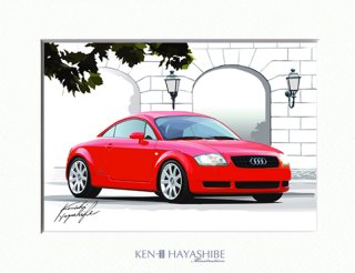 TT coupe 8N (red)