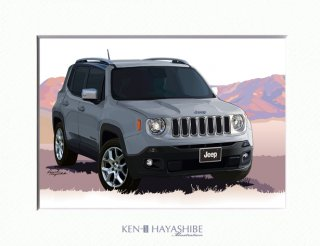 Jeep Renegade Limited (anvil)