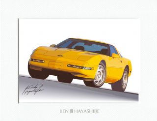 Chevrolet Corvette C4 (yellow)