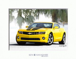 Chevrolet Camaro (yellow)