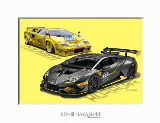 <img class='new_mark_img1' src='//img.shop-pro.jp/img/new/icons1.gif' style='border:none;display:inline;margin:0px;padding:0px;width:auto;' />rain X COUNTACH + HURACAN SUPER TROFEO EVO
