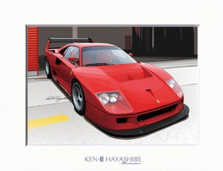 F40 LM (red)