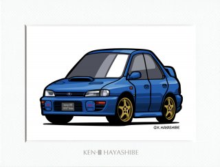 インプレッサ (GC) WRX type RA STi