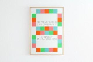 Max Bill / Schweizerisches Ton Künstler Fest 1983