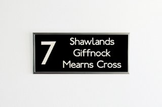 Bus Blind - 7 Shawlands Giffnock Mearns Cross