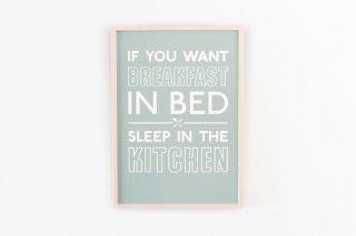 Breakfast in Bed - Green