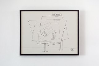 Saul Steinberg / Betty Parsons Gallery  1966