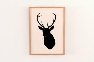 Oh Deer - Black