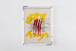 Antoni Tàpies / XXIII FIRA DEL LLIBRES D´OCASIÓ ANTIC I MODERN