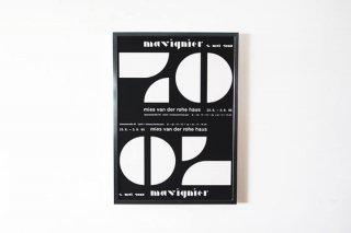 Almir Mavignier / Mies van der Rohe Haus 1995