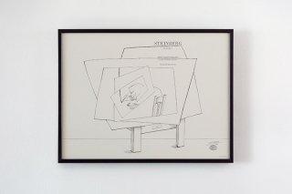 Saul Steinberg / Betty Parsons Gallery 1966