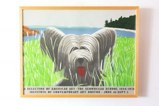 Alex Katz / A Dog at Duck Trap 1976