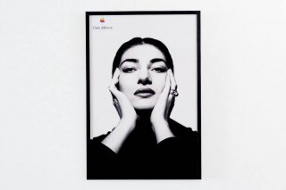 APPLE THINK DIFFERENT POSTER - MARIA CALLAS -