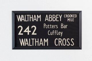 Bus Blind / 242 WALTHAM ABBEY -  WALTHAM CROSS