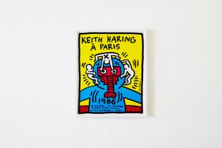 Keith Haring  / Galerie Templon 1986