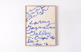 "Cy Twombly / "" Salalah "" Gagosian Gallery 2008"