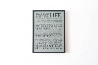 """Dove Manifesto"" Letterpress Poster / Limited Edition"