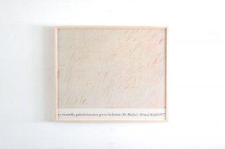 Cy Twombly / Galerie Greve, Köln 1977
