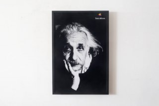 APPLE THINK DIFFERENT POSTER - Albert Einstein -