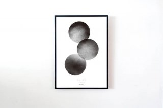 "Anne Nowak / ""Three Moons"" POSTER 700 × 500 mm"