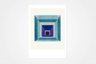 "Lissa Thimm / ""Blue Square"" MINI_A5"