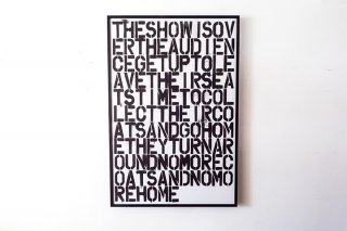 Christopher Wool & Felix Gonzalez-Torres / Untitled 1993