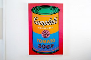 Andy Warhol / Soup Can Tomato Colored Label - Large -