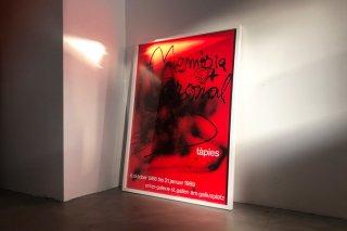 Antoni Tàpies / Erker-Galerie St. Gallen  1988